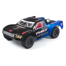 ARRMA FURY MEGA (BLUE/BLACK) SHORT COURSE TRUCK WITH BATTERY & CHARGER