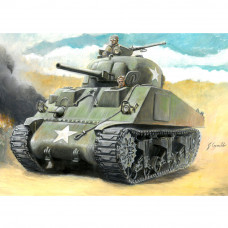 ITALERI M4 SHERMAN 75MM  (GLUE, PAINTS AND BRUSH NOT INCLUDED) 1:56