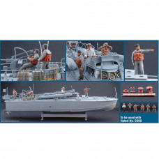 ITALERI * M.A.S. CREW AND ACCESSORIES 1:35