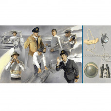 ITALERI VOSPER CREW AND ACCESSORIES 1:35