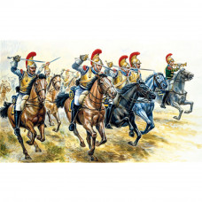 ITALERI FRENCH HEAVY CAVALRY (NAP. WARS) 1:72
