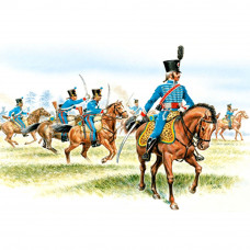 ITALERI FRENCH HUSSARS (NAP. WARS)