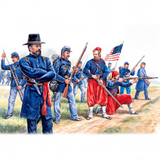 ITALERI UNION INFANTRY/ZUAVES (AMERICAN CIVIL WAR)