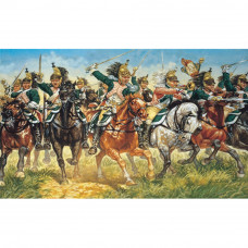 ITALERI FRENCH DRAGOONS (NAP. WARS) 1:72
