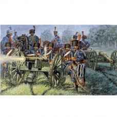ITALERI FRENCH ARTILLERY (NAP.WARS) 1:72