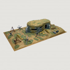 ITALERI WWII -  BUNKER  AND ACCESSORIES 1:72