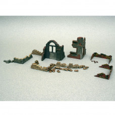 ITALERI WALLS AND RUINS 1:72