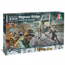 ITALERI PEGASUS BRIDGE D-DAY 75TH ANNIV. BATTLE SET 1:72