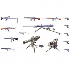 ITALERI MODERN LIGHT WEAPON SET 1:35