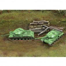ITALERI IS-2 (2 FAST ASSEMBLY MODELS)
