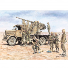 ITALERI AUTOCANNON 3RO WITH 90/53 AA GUN (2FAST ASSEMBLY MODELS)