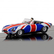 SCALEX JAGUAR E-TYPE UNION JACK - NEW TOOLING