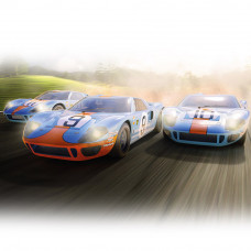 SCALEX FORD GT40 1968 - GULF TRIPLE PACK - LIMITED EDITION