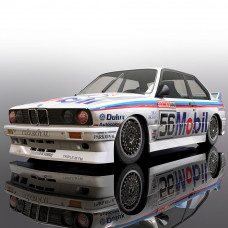 SCALEX BMW E30 1988 PETER BROCK BATHURST #56