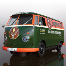 SCALEX VOLKSWAGON PANEL VAN T1B - GREEN