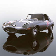 SCALEX JAGUAR E-TYPE NURBURGRING 1000KM 1963