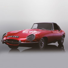 SCALEX JAGUAR E-TYPE - RED 848CRY