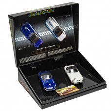 SCALEX JAGUAR E-TYPE - FIRST WIN 1961 TWIN PACK