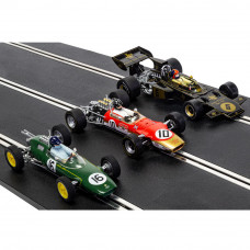 SCALEX THE GENIUS OF COLIN CHAPMAN - LOTUS F1 TRIPLE PACK