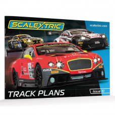 SCALEX SCALEXTRIC TRACK PLANS BOOK (10TH EDITION)
