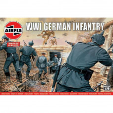 AIRFIX WWI GERMAN INFANTRY 1:76 SCALE