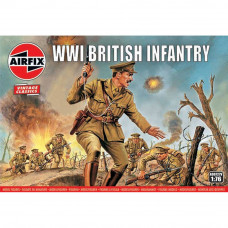 AIRFIX WWI BRITISH INFANTRY 1:76 SCALE