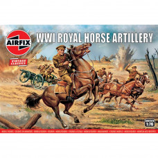 AIRFIX WWI ROYAL HORSE ARTILLERY 1:76 SCALE