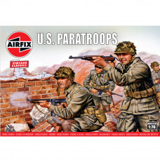 AIRFIX WWII US PARATROOPS  1:72