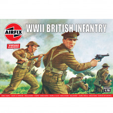 AIRFIX WWII BRITISH INFANTRY N. EUROPE1:72