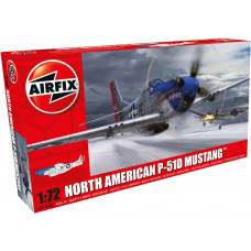 AIRFIX NORTH AMERICAN P-51D MUSTANG 1:72 - NEW LIVERY