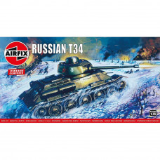AIRFIX RUSSIAN T-34 TANK 1:76 SCALE