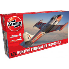 AIRFIX T3 HUNTING PERCIVAL JET PROVOST T.3/T 1:72