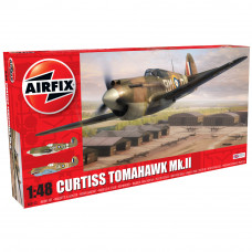 AIRFIX CURTISS TOMAHAWK MK.IIB 1:48 - NEW LIVERY