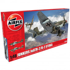AIRFIX JUNKERS JU87B-2/R 1:48 - NEW LIVERY