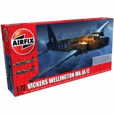 AIRFIX VICKERS WELLINGTON MK.IC, 1:72