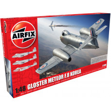 AIRFIX GLOSTER METEOR F8, KOREAN WARE 1:48 - NEW LIVERY