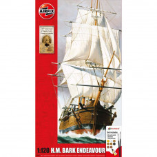 AIRFIX ENDEAVOUR BARK AND CAPTAIN COOK 250TH ANNIVERSARY  1:120