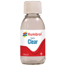 HUMBROL CLEAR - SATIN - 125ml