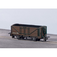 PECO OPEN WAGON, BROWN UNLETTERED