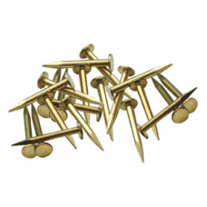 PECO RAIL NAILS BRASS (500)