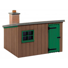 PECO LINESIDE HUT - WOODEN