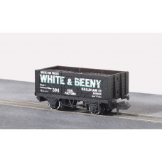 PECO QUALITY LINE N GAUGE RTR WAGON WHITE AND BEENY NO.304
