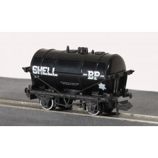 PECO PETROL TANK WAGON SHELL/BP, BLACK