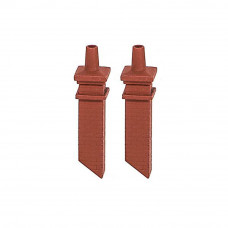 PECO RATIO SIGNAL BOX CHIMNEY MOULDINGS (PAIR)