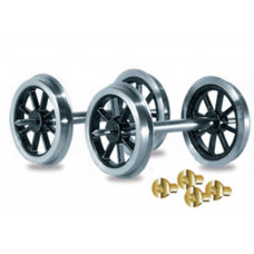 PECO SPOKED WAGON WHLS&B/RINGS