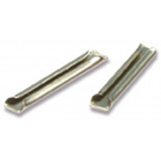 PECO RAIL JOINERS N/SILVER (6)