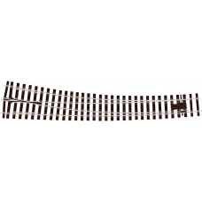 PECO O GAUGE CURVED TURNOUT R/H