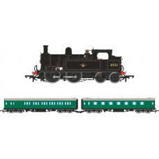HORNBY WAINWRIGHT H CLASS 0-4-4T EARLY BR TRAIN PACK - LIMITED EDITION - NEW CAPEX