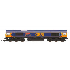 HORNBY GBRF CLASS 66 'INSPIRATION DELIVERED - HITACHI RAIL EUROPE'