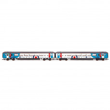 HORNBY NORTHERN RAIL, CLASS 156, SET 156480, DMS NO. 57480 AND DMSL NO. 52480, 'SPIRIT OF THE ROYAL